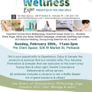 health and wellness flyer